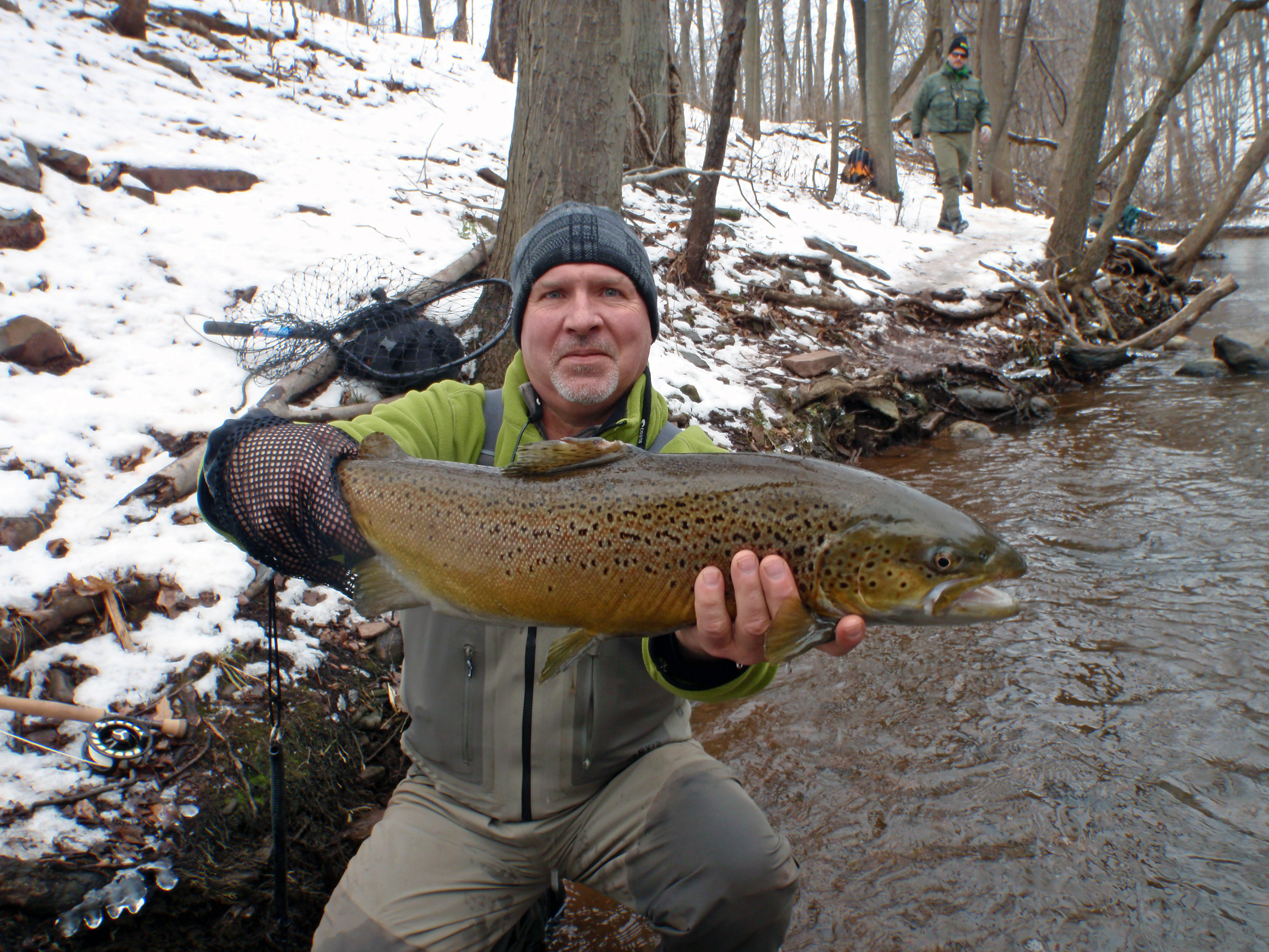 Brian London Oak Orchard Brown Trout